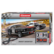 Carrera 25228 Evolution Most Wanted Slot Car Set