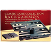 Classic Games Backgammon 18in Vinyl Stitched