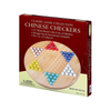 Classic Games Chinese Checkers Wood W/ Marbles