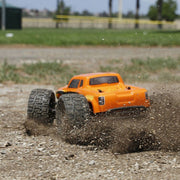 ECX Ruckus 1/18 4WD RC Monster Truck (Orange) ECX01000AUT2