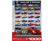Eurographics 60698 1000pc Ford Mustang Evolution Vertical