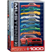 Eurographics 60699 Ford Mustang 9 Model Puzzle 1000pc