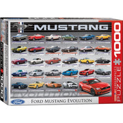 Eurographics 60684 Ford Mustang Evolution Puzzle 1000pc