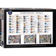 Eurographics 60751 Globetrotter World Puzzle 1000pc