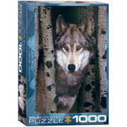 Eurographics 61244 Gray Wolf Puzzle 1000pc