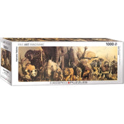 Eurographics 64654 Haruo Takino Noahs Ark Panoramic Puzzle 750pc