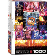 Eurographics 65306 Kiss Hottest Show on Earth Puzzle 1000pc