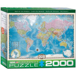 Eurographics Map of the World Puzzle 2000pc