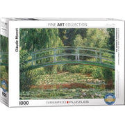 Eurographics 60827 Monet Japanese Footbridge Puzzle 1000pc