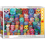 Eurographics 65316 Traditional Mexican Skulls Puzzle 1000pc