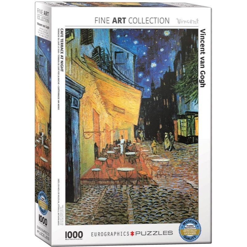 Eurographics Van Gogh Cafe at Night Puzzle 1000pc – Metro