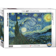 Eurographics 61204 Van Gogh Starry Night Puzzle 1000pc