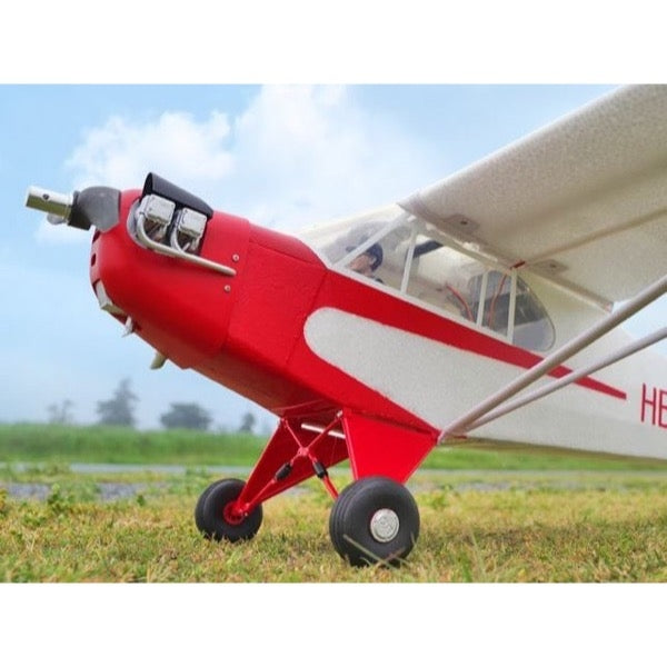 FMS FMS106P Piper J-3 Cub V3 1400mm RC Plane Swiss Version