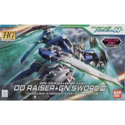 Bandai HG 1/144 00 Raiser and GN Sword III | 160996