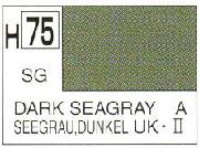 Gunze H075 Acrylic Semi-Gloss Dark Sea Grey