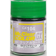 Gunze GX104 Mr Clear Color GX Clear Green