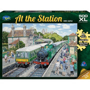 Holdson 770519 At the Station Corfe Castle Puzzle XL 500pc