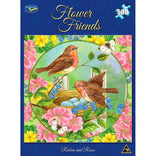 Holdson 500pce Flower Friends Robins and Roses