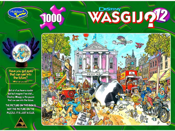Holdson 1000pc WASGIJ Destiny 12 Market Mayhem