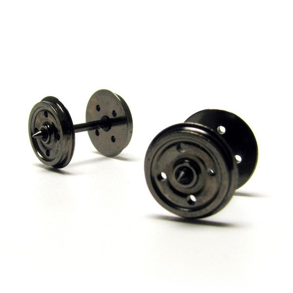 Hornby OO 14.1mm 4 Hole Wheels 10 Pack