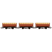 Hornby R6830 OO BR 20 Ton Coke Hopper Wagons 3 Pack