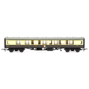 Hornby R4709 OO BR Mk1 Coach Corridor Composite Chocolate/Cream*