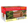 Hornby R9826 OO Detached Brick Garage