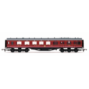 Hornby R4802 OO LMS 68 Dining/Restaurant Car 238 Crimson Lake