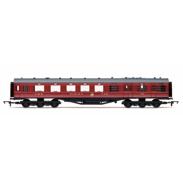 Hornby OO LMS 68 Dining/Restaurant Car 238 Crimson Lake