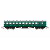 Hornby R4792 OO SR 58ft Maunsell Rebuilt (Ex-LSWR 48ft) Eight Comartment Brake Third Class Non-Corridor Coach SR Green