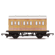 Hornby R4674 OO RailRoad LNER 4 Wheel Coach