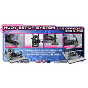 Hudy 108905 Universal Set-Up System: 1/10 Off Road Cars 2WD and 4WD