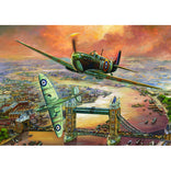 Jumbo 1000pc Spitfire Over London Puzzle