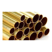 K&S Brass Tube 1.5 x 300mm 0.225 Wall 3pc