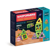 Magformers 703007 Space Traveler Set 35pce