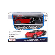 Maisto 39514 1/24 Assembly Line 2017 Bugatti Chiron Coupe Diecast Car