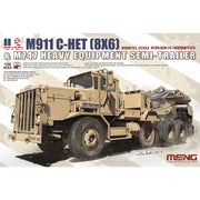 Meng SS-013 1/35 M911 C-HET and M747 Trailer*