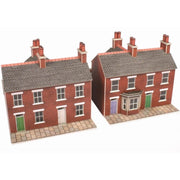 Metcalfe PN103 N Terrace Houses Red Brick Card Kit