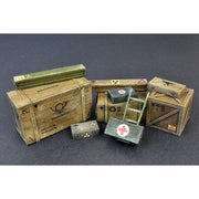 Mini Art 1/35 Wooden Boxes and Crates