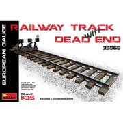 Miniart 35568 1/35 Railway Track & Dead End (European Gauge)