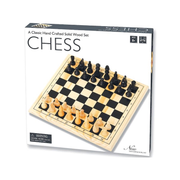 New Entertainment Chess Wood 29cm