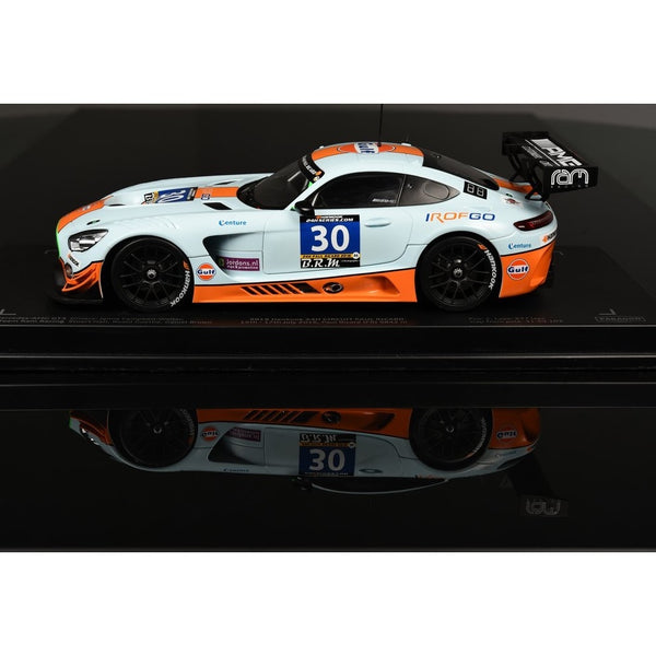Paragon Models 1/18 Mercedes-AMG GT3 Ram Racing #30 UK 2016 2nd 24hr Paul Ricard