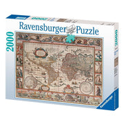 Ravensburger 16633-6 Map of World From 1650 Puzzle 2000pc