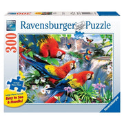 Ravensburger 13534-9 Tropical Bird Large Format Puzzle 300pc