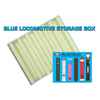 Auscision HO Blue Locomotive Storage Box (Vertical Liners)