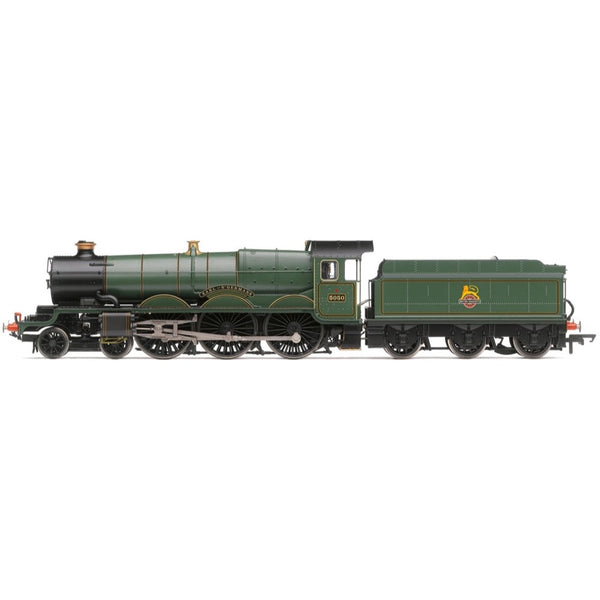 Hornby OO BR Castle Class Earl of St Germans BR Early TTS Digital Sound