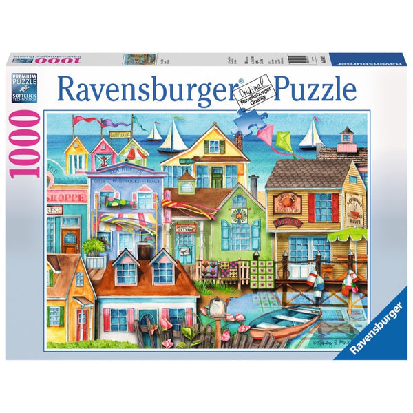 Ravensburger Down the Wharf Puzzle 1000pc