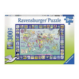 Ravensburger Looking at the World Puzzle 300pc