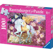 Ravensburger 13833-3 Riding in the Woods Puzzle 100pc