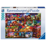 Ravensburger 16685-5 World of Books Aimee Stewart Puzzle 2000pc